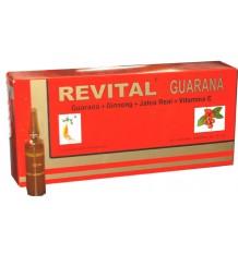 Revital Guaraná 20 ampolas