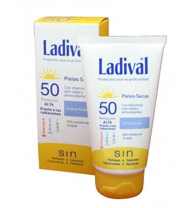 ladival pieles secas 50 protector solar