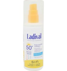 ladival protector solar 50 spray piel sensible