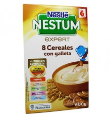 Nestum 8 Cereales Galleta 600 g