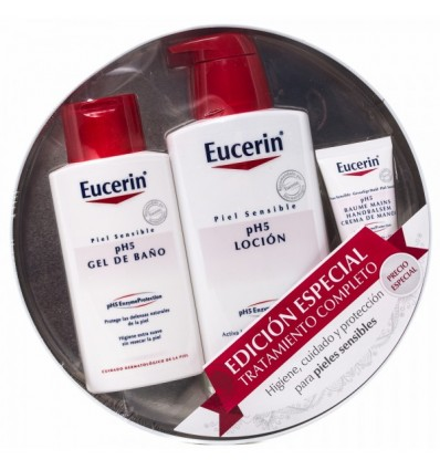 Eucerin Ph5 Locion 400 ml Gel 200 ml Crema Manos 30 ml