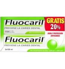 Fluocaril Zahnpasta Paket Einsparungen duplo