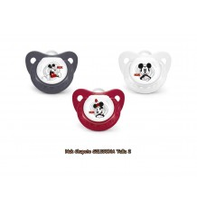 Pacifier mickey silicone size 2 nuk