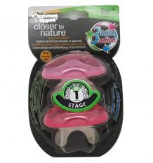 Tommee Tippee Teething Phase 1 Pink