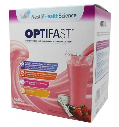 Optifast Batido de fresa