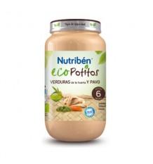 Nutriben Eco Potito Pavo Huerta 200g