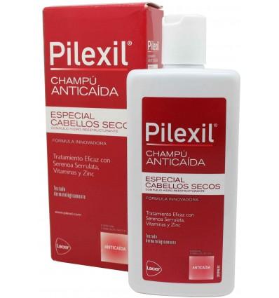 pilexil champu anticaida cabellos secos