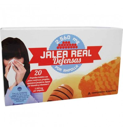 Dernove Jalea Real 2560 mg Defensas 20 Ampollas