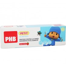 Phb Petit Pocoyo Gel Dentifrico Fresa 75 ml
