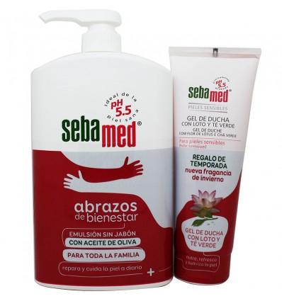 Sebamed Emulsion Sin Jabon Aceite de oliva 1000 ml Pack