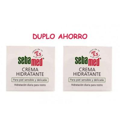 Sebamed Crema Facial Hidratante Piel sensible DUPLO