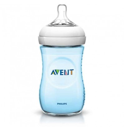 biberon avent natural 260 ml Azul
