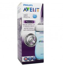 Avent biberon natural 330 ml colores