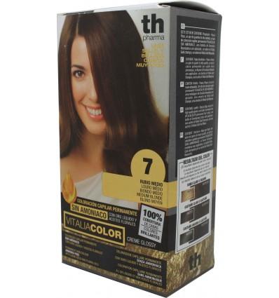 Th Pharma Vitaliacolor Tintura de cabelo 7 Louro Médio
