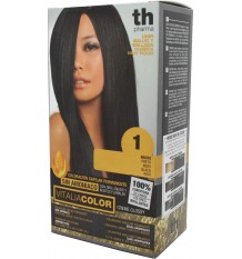 Th Pharma Vitaliacolor Tintura de cabelo Preto 1