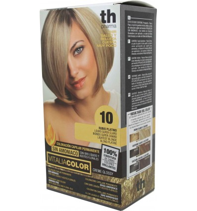 Th Pharma Vitaliacolor Tinte cabello 10 Rubio Platino