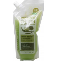 Acofarderm salle de bain et gel douche huile d'olive ecopack