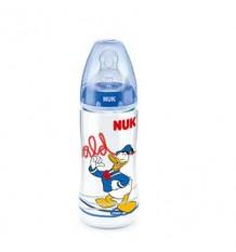 Nuk Biberon Silicone Pato Donald 2L Azul-300ml