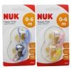 Nuk Chupete Latex Classic T1 0-6 2 unidades