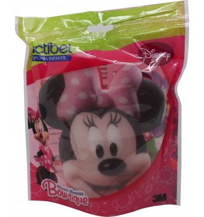 esponja actibel minnie