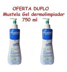 Mustela Bebe Gel Dermo Limpiador Duplo 750 ml