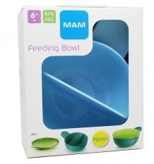 mam baby bowl alimentação bebe azul