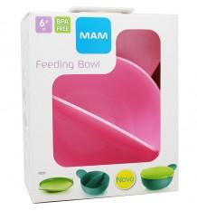 Mam Baby Bowl Feeding baby Pink