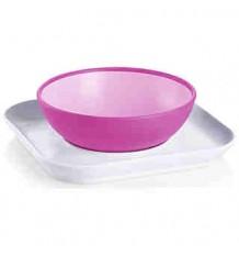 mam baby plato y bol rosa