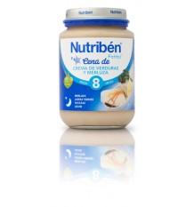 Nutriben Potito Cena Crema de Verduras y Merluza 200g