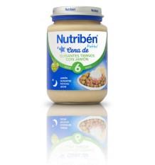 Nutriben Potito Cena Crema Guisantes con jamon 200g