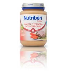 Nutriben Potito Jamon Ternera Verduras 200g