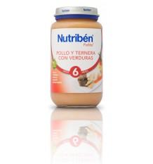 Nutriben Potito Pollo Ternera Verduras 250 g