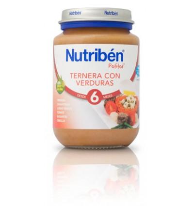 Nutriben Potito Ternera con Verduras 200 g