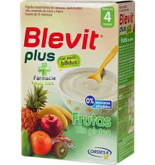 Blevit Plus Cereales Frutas sin gluten 300