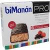 Bimanan Pro Bariitas Chocolate con fresa 6 unidades