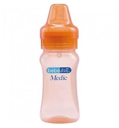 bebedue biberon naranja 260 ml