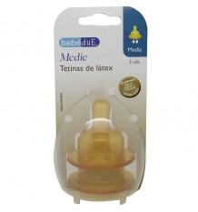 Bebedue tetina latex media
