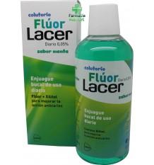 Fluor Lacer Diário Hortelã Colutorio 500 ml