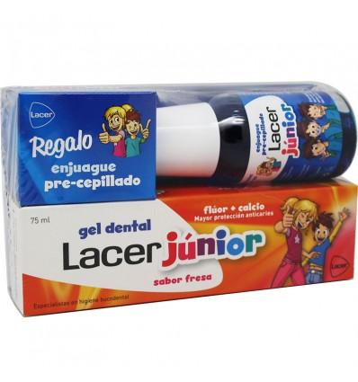 Lacer Junior Gel Fresa 75 ml Pack Regalo