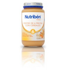 Nutriben Potito Dessert 6 Fruits with Cereal 250 g
