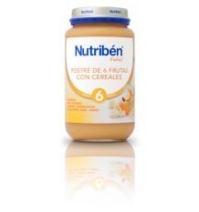 Nutriben Potito Sobremesa 6 Frutas com Cereais 250 g
