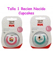 Nuk Pacifier Latex Cupcakes T1