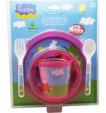 Peppa Pig-Set Mikrowelle