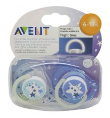 Avent Chupetes Nocturnos 6-18 meses