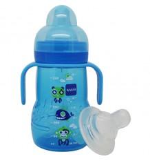 Mam Baby Biberon Trainer 220 ml azul peces