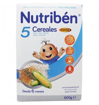 nutriben 5 cereales Fibra