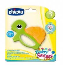 Chicco Game Turtle Rattle Teething Ring