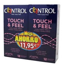 Controle Touch Feel Mega poupança