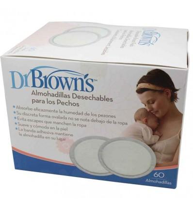 Dr browns Discs absorbent 60 units