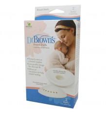 Dr browns Conchas protetoras do bico do peito